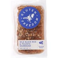 Gluten Freedom Wild Black Rice & Polenta Sourdough 550g