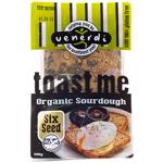 Venerdi Six Seed Gluten Free Organic Toast Bread 600g