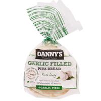 Danny's Original Garlic Pita Bread 4ea