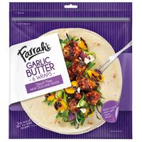 Farrah's Garlic Butter Wraps 6ea
