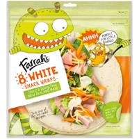 Farrah's Farrahs Kids White Snack Wraps 8ea