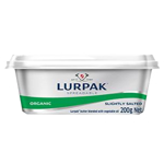 Lurpak Organic Slightly Salted Butter 200g