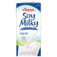 Vitasoy Regular Soy Milky 1L