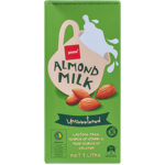 Pams Unsweetened Almond Milk 1l