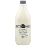 Puhoi Valley Fresh Organic Whole Milk 1.5l