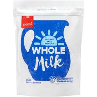 Pams Instant Whole Milk Powder 400g