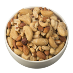 Bulk Foods Roasted Salted Mixed Nuts 1kg