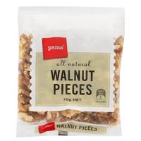 Pams Walnut Pieces 70g