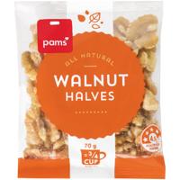 Pams Walnut Halves 70g