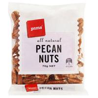 Pams Pecan Nuts 70g