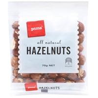 Pams Hazelnuts 70g
