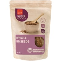 Pams Superfoods Whole Linseeds 300g