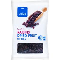 Value Raisins 400g