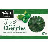 Tasti Green Glace Cherries 150g