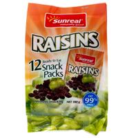 Sunreal Raisins 12pk