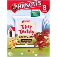 Arnotts Tiny Teddy & Spotty Dog  8pk