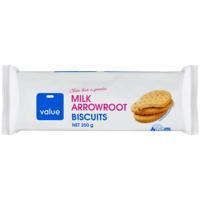 Value Milk Arrowroot Biscuits 250g