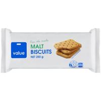 Value Malt Biscuits 250g