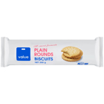 Value Plain Rounds Biscuits 250g