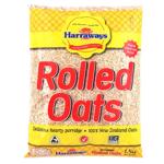 Harraways Rolled Oats Breakfast Cereal 1.5kg