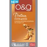 O&G Cashew Almond Quinoa Crunchy Granola 450g