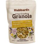 Hubbards Passionfruit Coconut Pineapple Crispy Crunchy Granola 400g