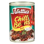 Wattie's Hot Chilli Beans 420g
