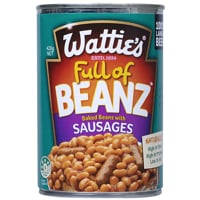 Wattie's Baked Beans With Sausages 420g