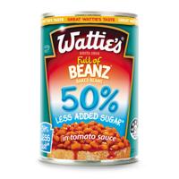 Wattie's Baked Beans 50% Less Added Sugar 420g