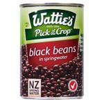 Wattie's Black Beans In Springwater 400g