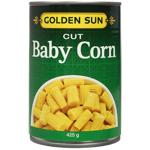 Golden Sun Cut Baby Corn 425g