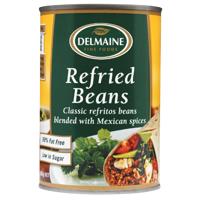 Delmaine Refried Beans 420g