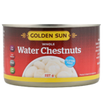 Golden Sun Whole Water Chestnuts 227g