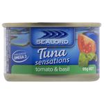 Sealord Tuna Sensations Tomato & Basil 95g