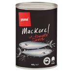 Pams Mackerel In Tomato Sauce 425g