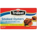 Trident Smoked Oysters In Vegetable Oil 85g