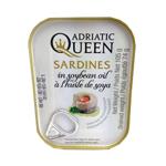 Adriatic Queen Sardines In Soybean Oil 105g