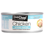 Chop Chop Chicken Chunks In Spring Water With Sea Salt 160g