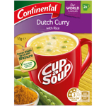 Continental Cup A Soup Hearty Dutch Curry & Rice 2 Pack 55g