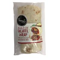 Theresa's Kitchen Ready To Eat Falafel Wrap 220g