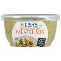 Lisa's Middle Eastern Falafel Mix 400g