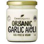 Ceres Organics Egg-Free & Vegan Organic Garlic Aioli 235g