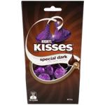 Hershey's Dark Chocolate Kisses 121g