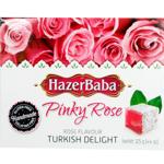 Hazer Baba Rose Turkish Delight 125g