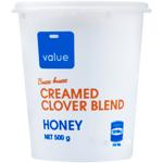 Value Creamed Clover Blend Honey 500g