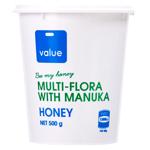 Value MultiFlora  Manuka Honey 500g
