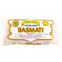 Kings Choice Highland Basmati Aromatic Long Grain Rice 1kg