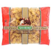San Remo Pasta Large Spirals 500g