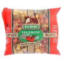 San Remo Vegeroni Pasta Shapes 375g