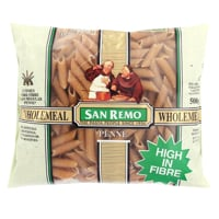 San Remo Wholemeal Pasta Penne 500g